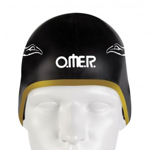 Cuffia Omer Pelizzari UP-SC1 Nera in Silicone per Piscina