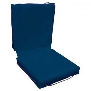 Cuscino galleggiante per barca Lalizas doppio in Tessuto Blu cm 83x40x6,5