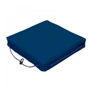 Cuscino galleggiante per barca Lalizas singolo in tessuto blu cm 40x40x6,5