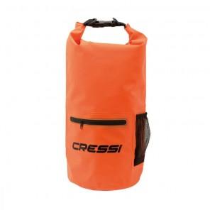 Dry Bag 20 Litri ARANCIO Cressi Sub Sacca Impermeabile con Cerniera