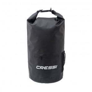Dry Bag 20 Litri NERA Cressi Sub Sacca Impermeabile con Cerniera