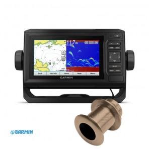 Ecoscandaglio Gps Garmin Echomap Plus 62cv Trasduttore Passante