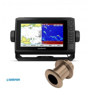 Ecoscandaglio Gps Garmin Echomap Plus 72cv Trasduttore Passante