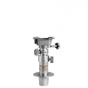 Gamba per tavolo telescopica removibile con molla a Gas