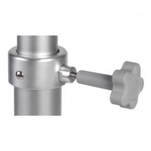 Gamba per tavolo telescopica in alluminio
