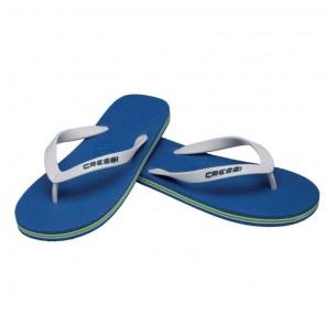 Infradito Cressi Sub Beach Colore Blu-Bianco