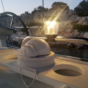 Luce marina ad energia solare Nuova Rade per corrimano