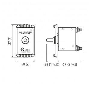 Magnetotermico Quick Di Protezione per Salpa Ancora