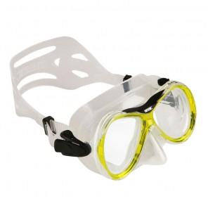 Maschera Seac Sub Capri trasparente - gialla