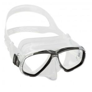 Maschera Cressi Sub Perla in silicone trasparente