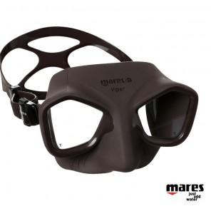 Maschera subacquea apnea Mares Viper Marrone