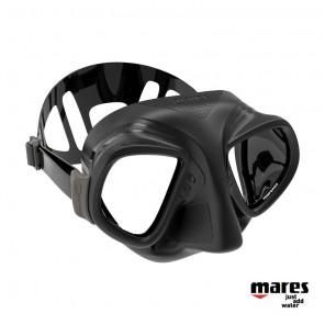 Maschera Mares X-TREAM in silicone Nero