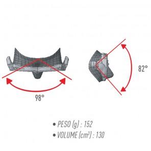 Maschera sub in silicone Micromask Technisub Black