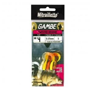 Raglout Mitraillette Gambe Calamento pesca