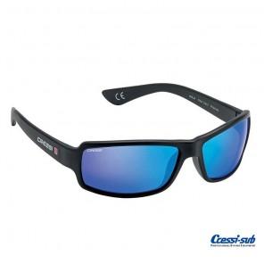 Occhiali Polarizzati Cressi Sub NINJA Galleggianti Blu Specchio