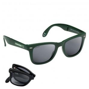 Occhiali Polarizzati Cressi Sub Taska Pieghevole Colore GREEN