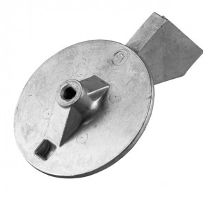 Anodo in zinco per Yamaha 150-200 hp Pinna 6K1-45371-01