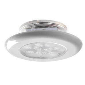 Plafoniera Luce LED Ø 77mm corpo ABS 75 Lumen IP67