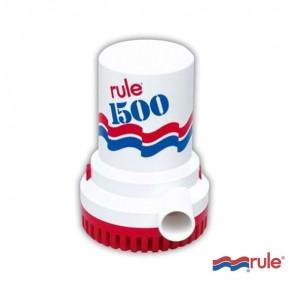 Pompa di sentina ad immersione Rule 1500 12volt litri/min 100