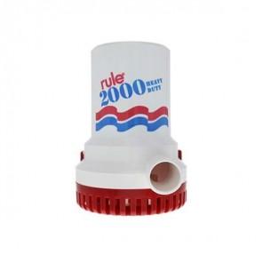 Pompa di sentina ad immersione Rule 2000 12volt litri/min 135