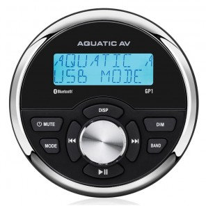 Radio stereo per barca Aquatic AV GP1 impermeabile IP65