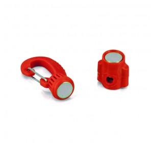 Reggifrusta Magnetico Mini Colore Rosso