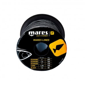 Sagola Mares Black Line Dyneema® Ø 1,6 mm 50 metri