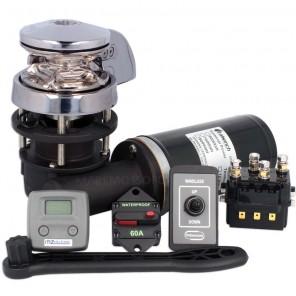 Verricello Salpa Ancora Italwinch Smart 500W Catena 6mm 12V KIT PLUS