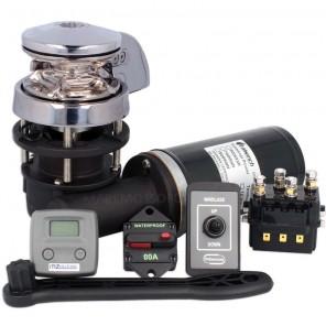 Verricello Salpa Ancora Italwinch Smart 700W Catena 6mm 12V KIT PLUS