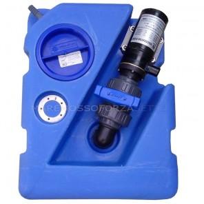Serbatoio acque nere 60 litri con maceratore