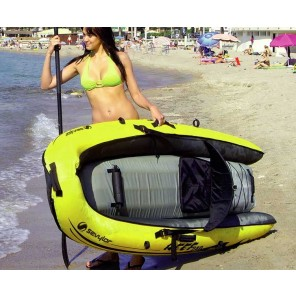 CANOA GONFIABILE SIT ON TOP SEVYLOR REEF 240 PACK COMPLETO