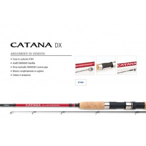 Canna da Spinning Shimano Catana DX Fusto in Carbonio
