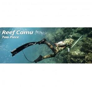 Muta Apnea Mimetica 5mm Sporasub Reef Taglia 2/S Neoprene Open Cell