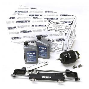 Timoneria Idraulica Ultraflex Nautech 1 Per Fuoribordo Max 300hp