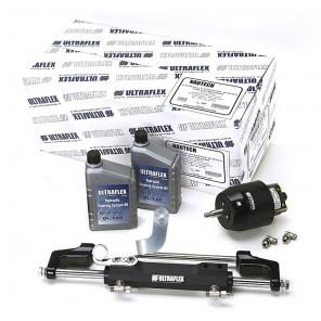 Timoneria Idraulica Ultraflex Nautech 3 Per Fuoribordo Max 300hp