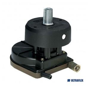 Timoneria Ultraflex T67 Coprimozzo Nero per cavo M58
