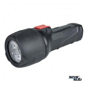 Torcia Seac Sub Q5 con tre led 700 lumen