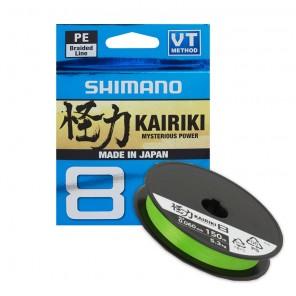 Trecciato Shimano Kairiki 8 - Metri 150 Colore Green