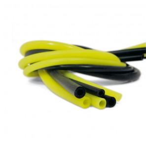 Tubo in Silicone 8mm Elastico Colore Giallo