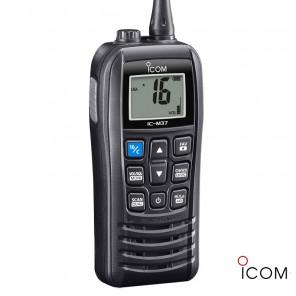 VHF portatile impermeabile IP57 Icom IC-M37E 6 Watt galleggiante