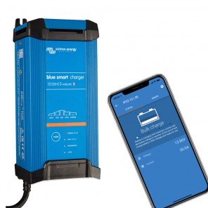 Carica batteria impermeabili IP22 Victron Blue Smart 12V 30A (3) Bluetooth