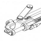 Cilindro Timoneria Idraulica Ultraflex UC128-OBF/1 Per Fuoribordo 39423Z