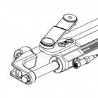 Cilindro Timoneria Idraulica Ultraflex UC128-OBF/2 Per Fuoribordo 39966R