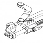 Cilindro Timoneria Idraulica Ultraflex UC128-OOBF/3 Per Fuoribordo 39967T