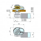 Salpa Ancora Per Barca Lofrans X1 500w Per Catena 6mm