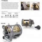 Shimano Tyrnos 50 Doppia Velocità mulinello per la pesca a traina Trolling reel