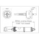 Flap per Barca Trim Tab Uflex MTT12