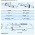 Timoneria Idraulica Ultraflex Gotech OBF Per Fuoribordo Max 115hp Outboard Steering