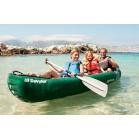 canoa gonfiabile sevylor adventure plus con pagaie