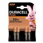 Pile Duracell tipo mini stilo AAA Blister 4 pile